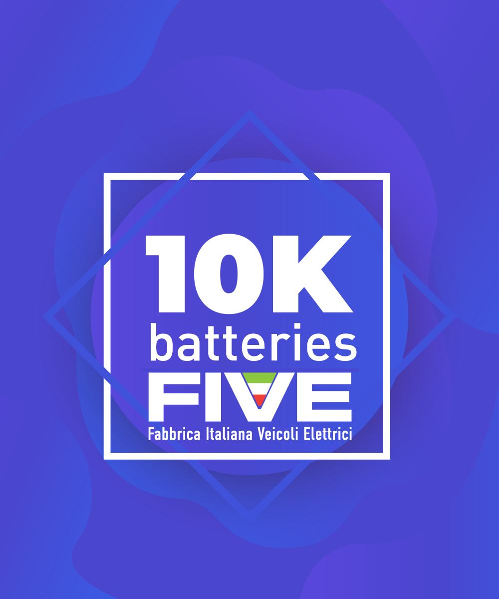 10000 batterie prodotte
